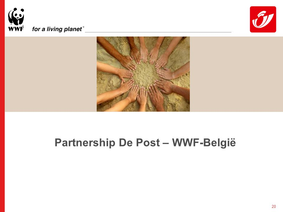 20 Partnership De Post – WWF-België