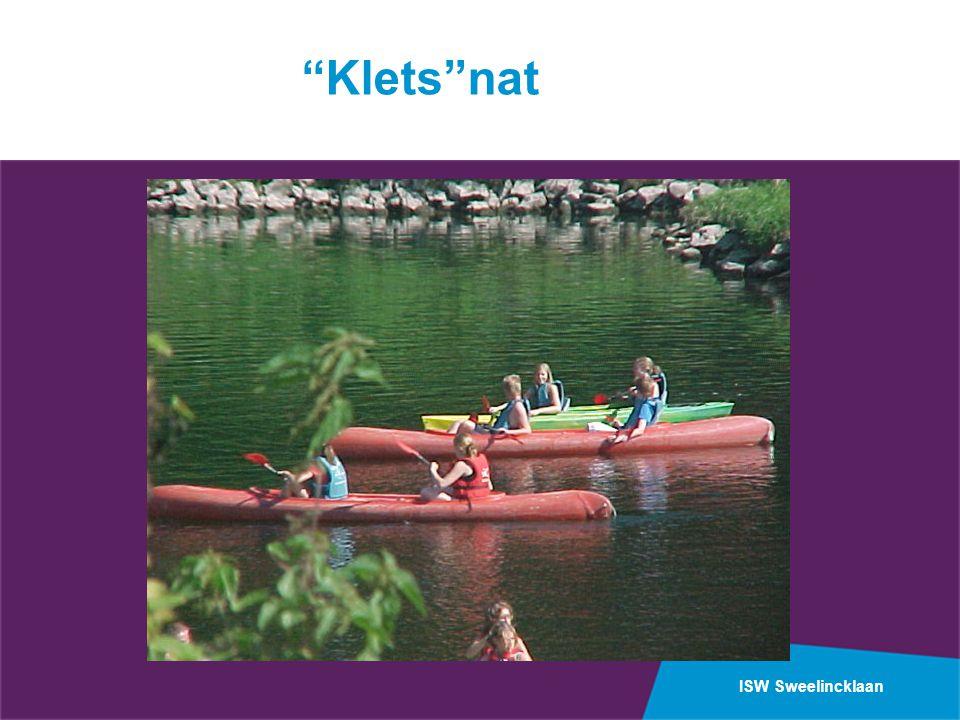 """ISW Sweelincklaan """"Klets""""nat"""