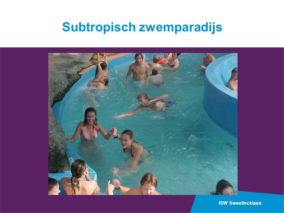 ISW Sweelincklaan Subtropisch zwemparadijs