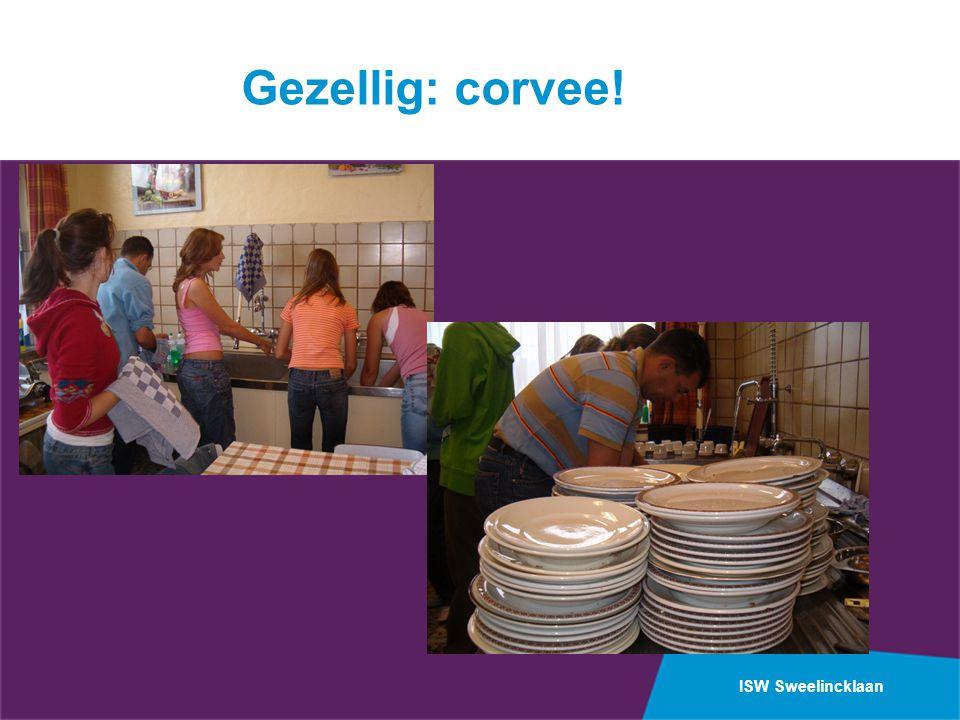 ISW Sweelincklaan Gezellig: corvee!