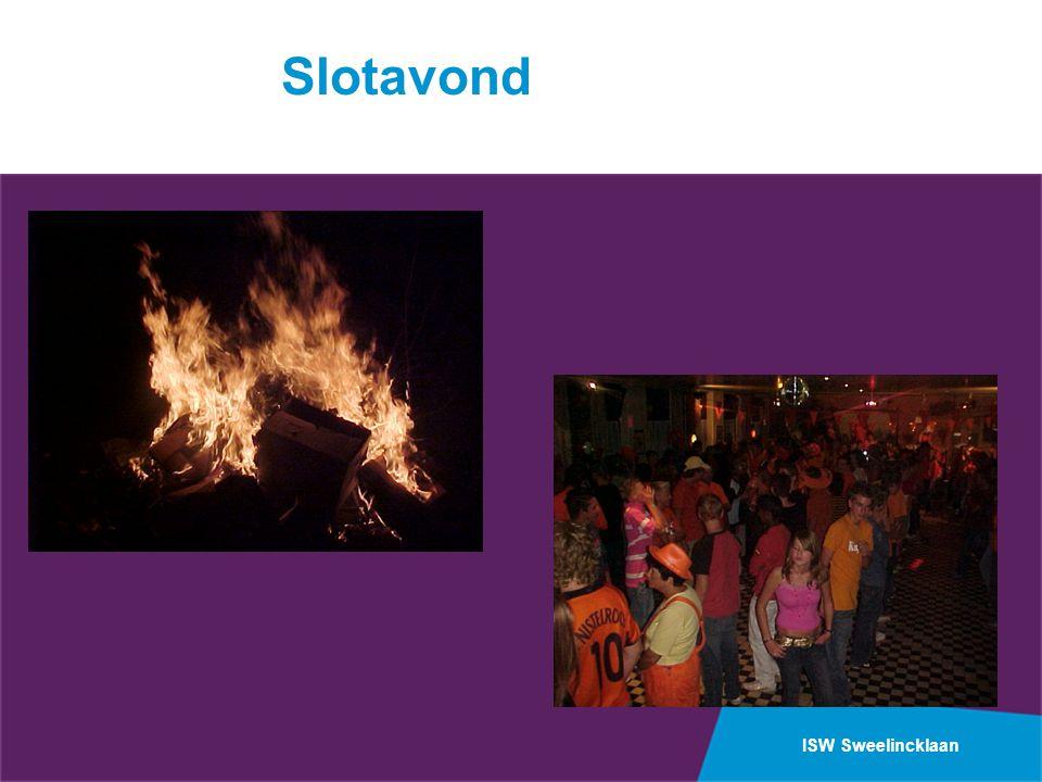 ISW Sweelincklaan Slotavond
