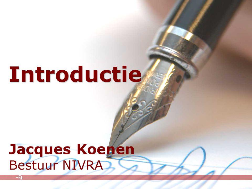 Jacques Koenen Bestuur NIVRA Introductie