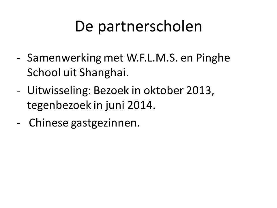 Shanghai -De Chinese cultuur en de Nederlandse cultuur.