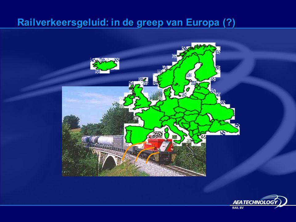 Railverkeersgeluid: in de greep van Europa (?)