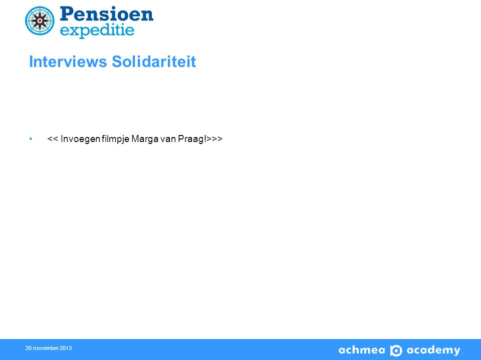 20 november 2013 Interviews Solidariteit >>