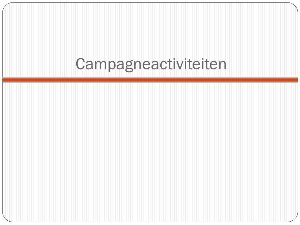 Campagneactiviteiten