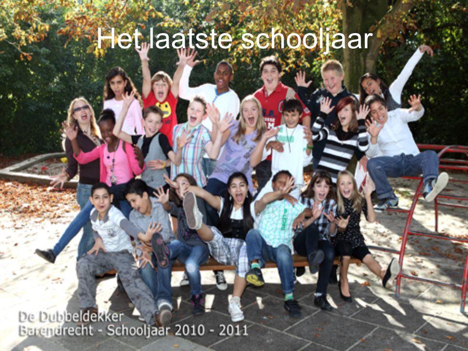 Het laatste schooljaar