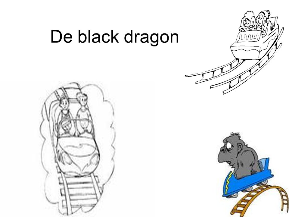 De black dragon