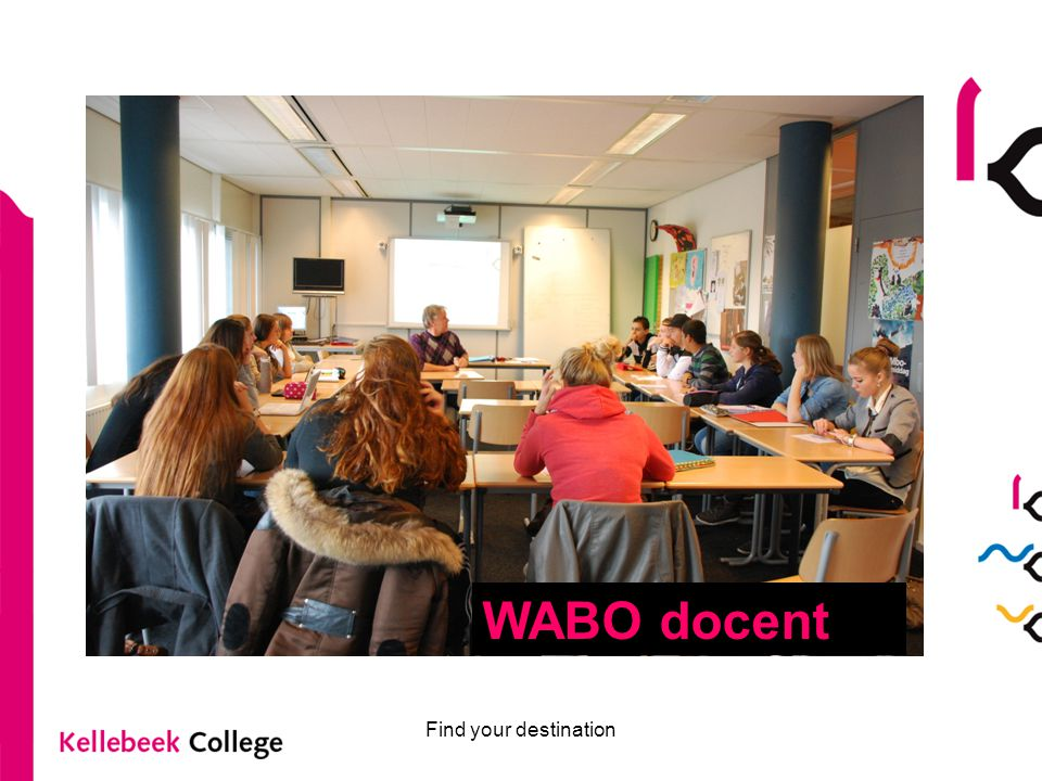Find your destination WABO docent