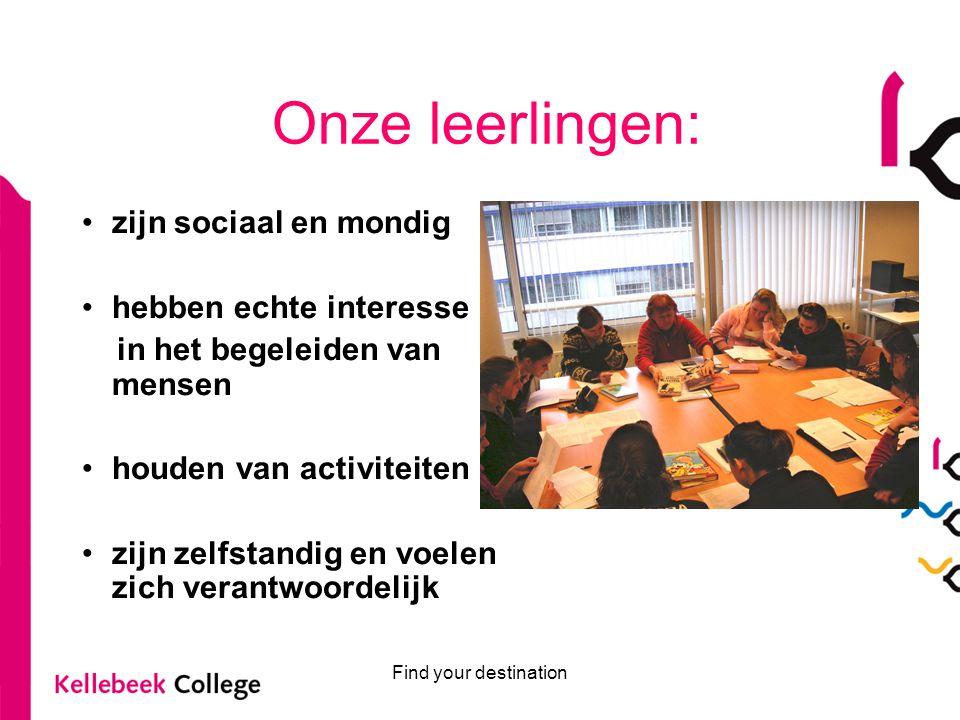 Find your destination Welzijn gaat ook internationaal .