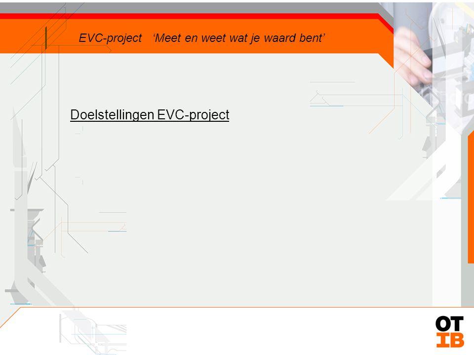 Regio Noord-Nederland Groningen, Friesland, Drenthe 800 bedrijven 12.000 werknemers gemiddeld 15 werknemers / bedrijf EVC-project 'Meet en weet wat je waard bent'