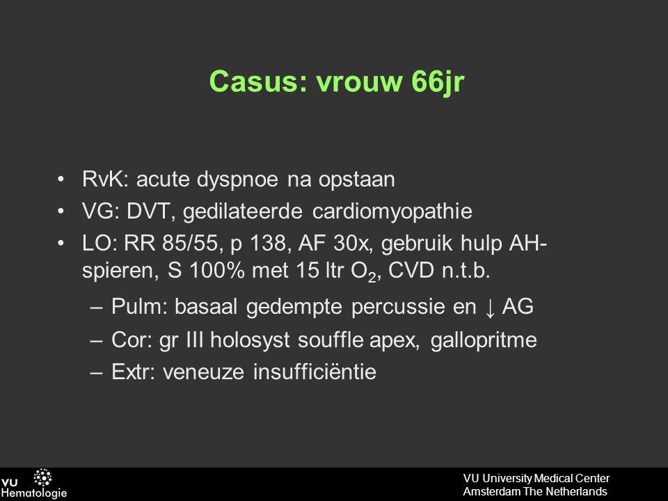 VU University Medical Center Amsterdam The Netherlands Verder onderzoek.