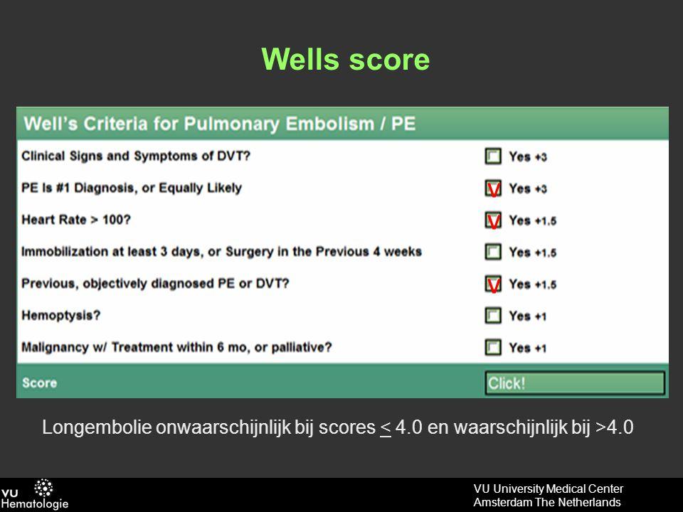 VU University Medical Center Amsterdam The Netherlands Verschilt uw diagnostiek in deze casus?