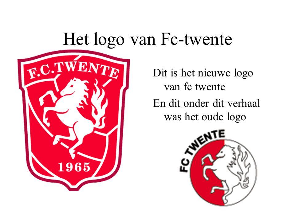 Het logo van Fc-twente Dit is het nieuwe logo van fc twente En dit onder dit verhaal was het oude logo