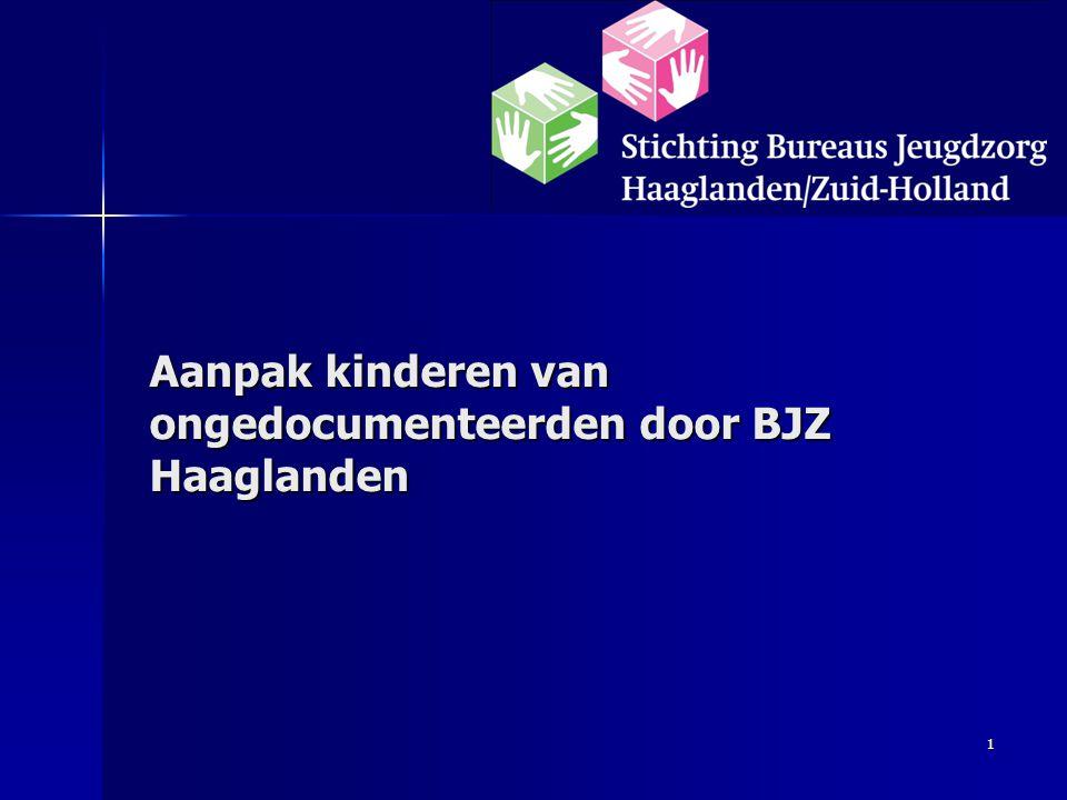 1 Aanpak kinderen van ongedocumenteerden door BJZ Haaglanden