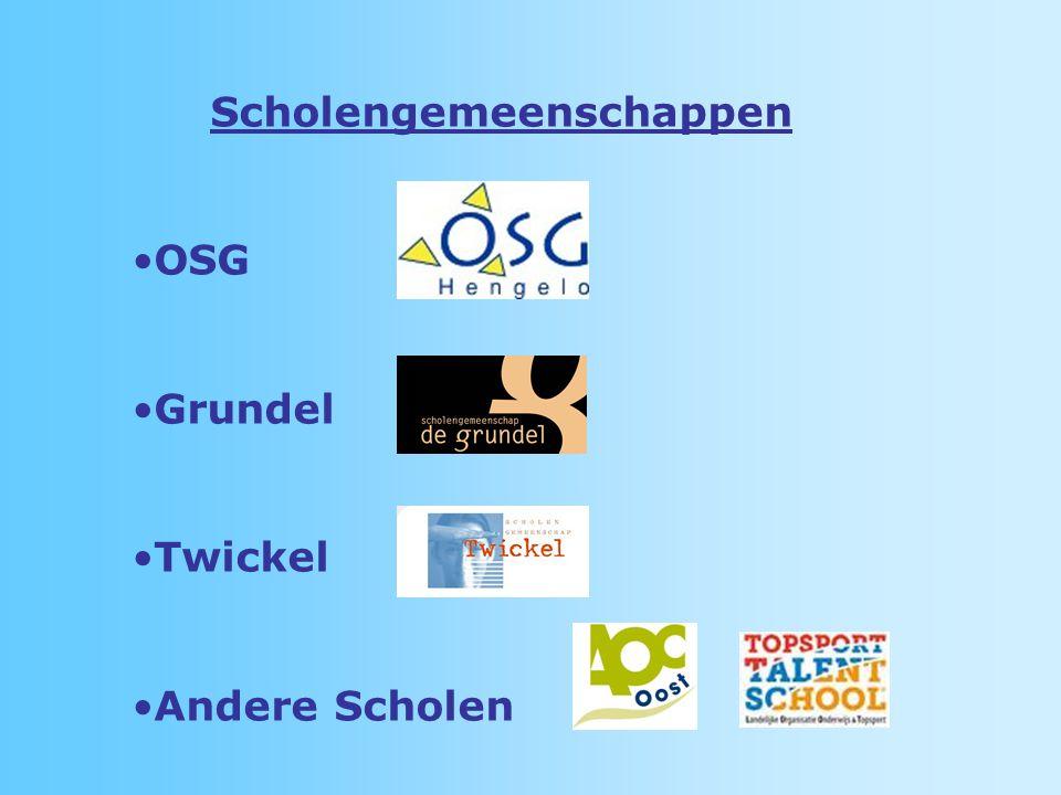 Scholengemeenschappen OSG Grundel Twickel Andere Scholen