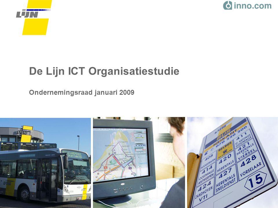 26 Augustus 2008ICT Organisatiestudie Dia 32 Kritisch succesfactoren voor de implementatie –Communicatie –Nodige middelen en ondersteuning –Draagvlak en motivatie (business én ICT) –Concrete invulling van het model –Mee aanpassen van de ICT rollen en processen langs business zijde –Gefaseerd implementatietraject –(Change) Management –Leiderschap –Integrale benadering van de ICT organisatie met aandacht voor de harde én zachte factoren –Invoeren van andere manieren van werken