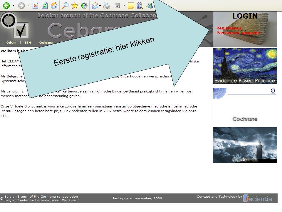 De Help pagina geeft informatie over Hoe zoeken in de bibliotheek.