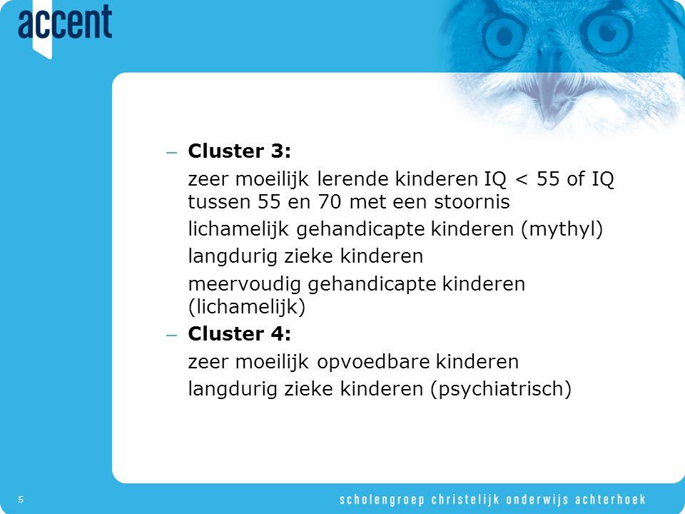 16 De essentie van de 1-zorgroute Plan Geen plan per kind