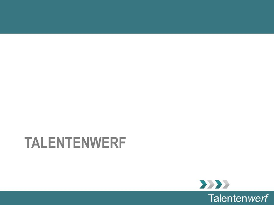 Talentenwerf TALENTENWERF