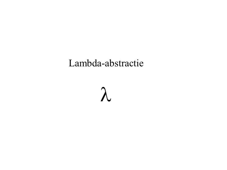Lambda-abstractie