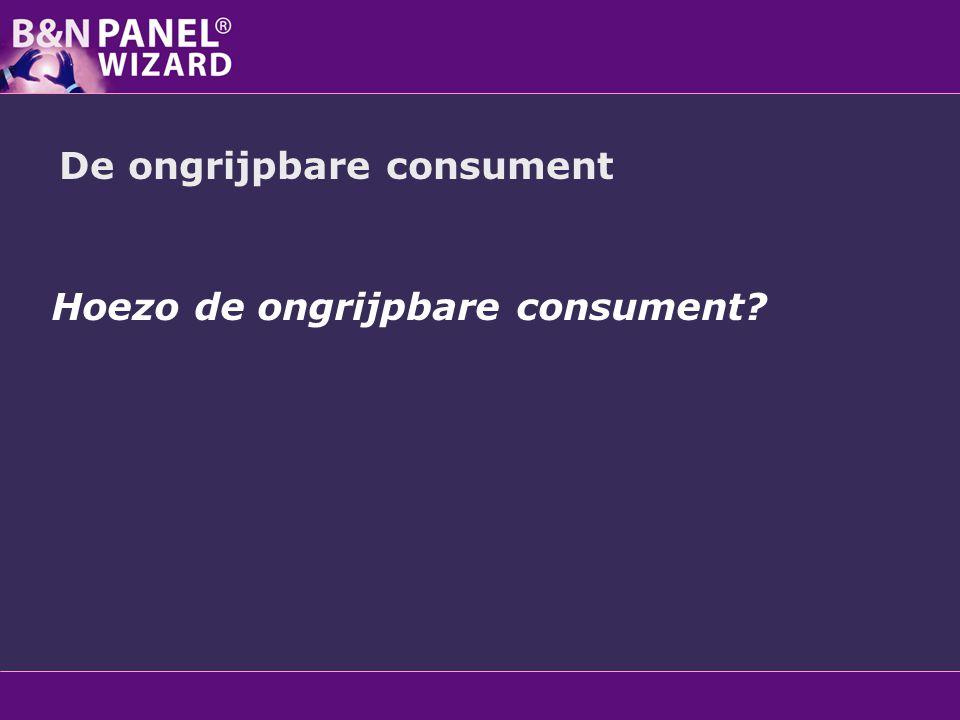 De ongrijpbare consument Hoezo de ongrijpbare consument.
