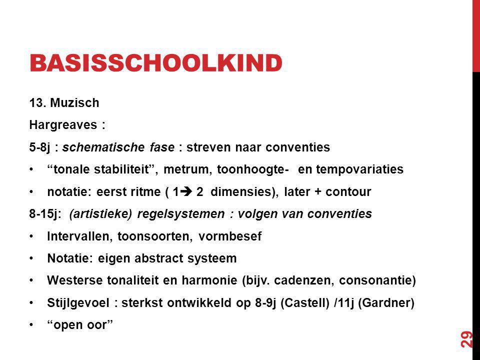 BASISSCHOOLKIND 13.