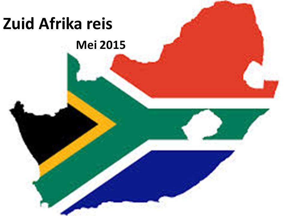 Zuid Afrika reis Mei 2015