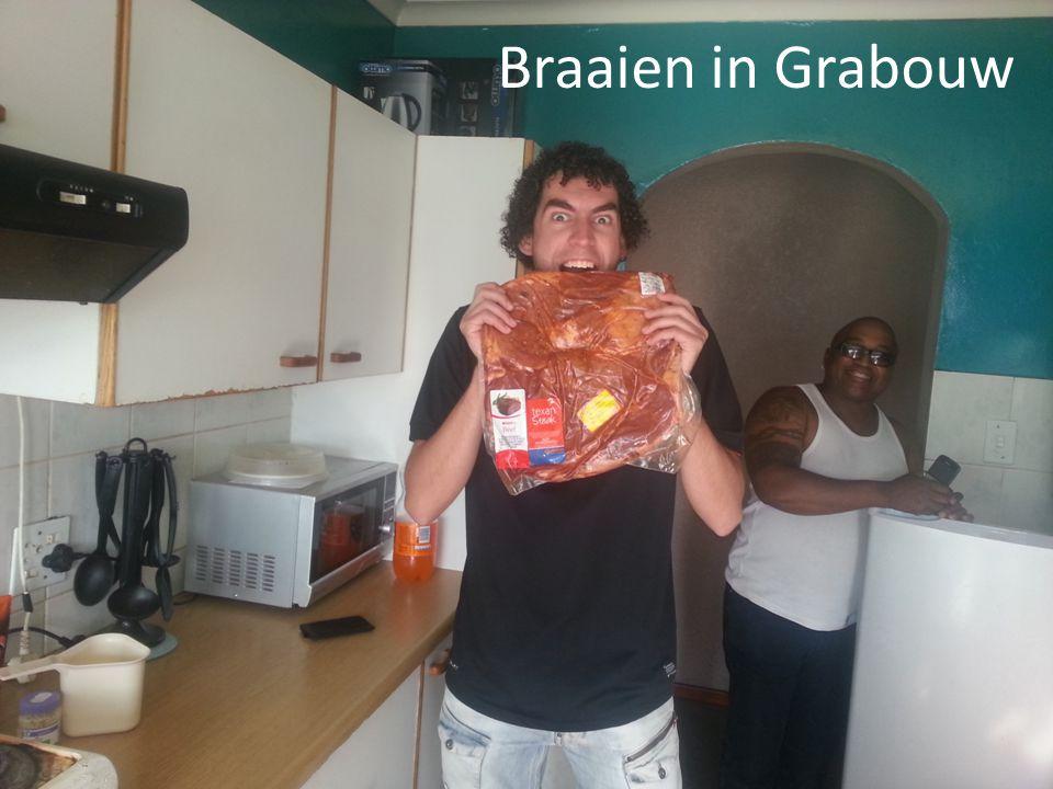 Braaien in Grabouw