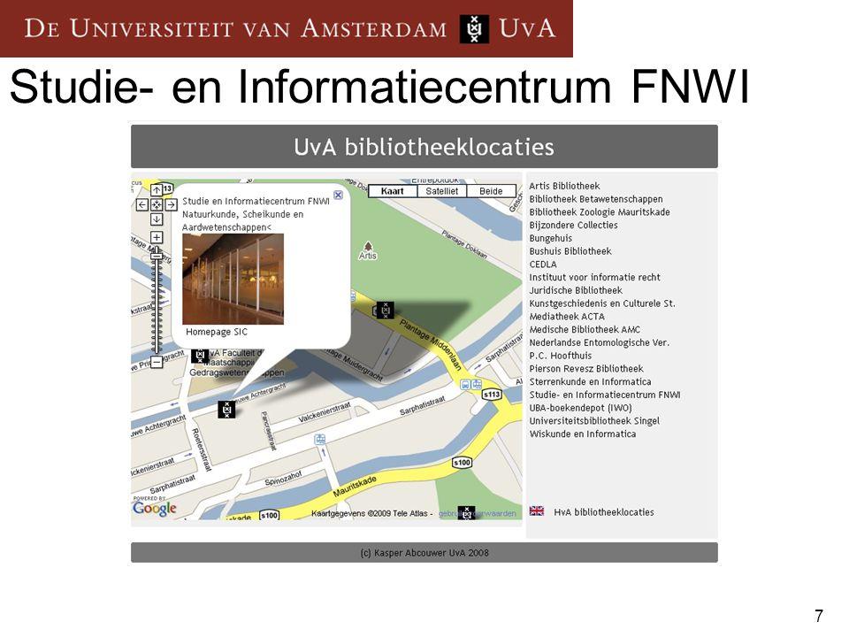 7 Studie- en Informatiecentrum FNWI