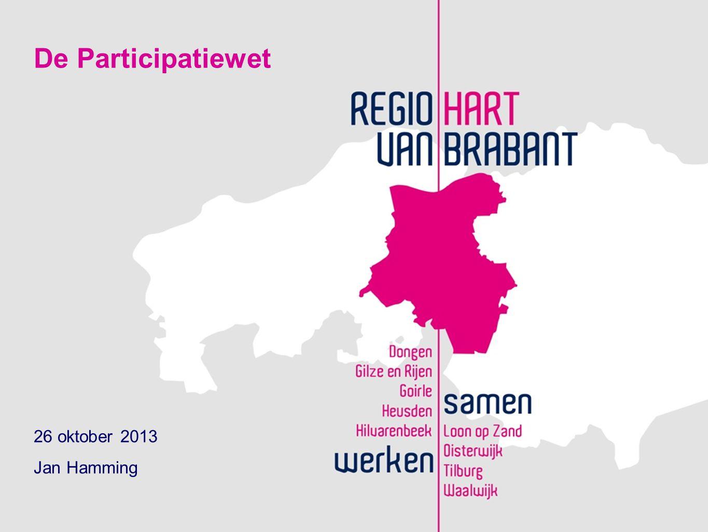 Presentatie De Participatiewet: wat verandert er voor gemeenten.