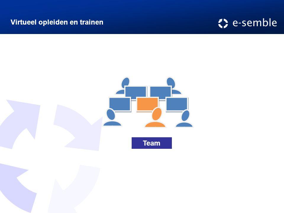 Virtueel opleiden en trainen Team