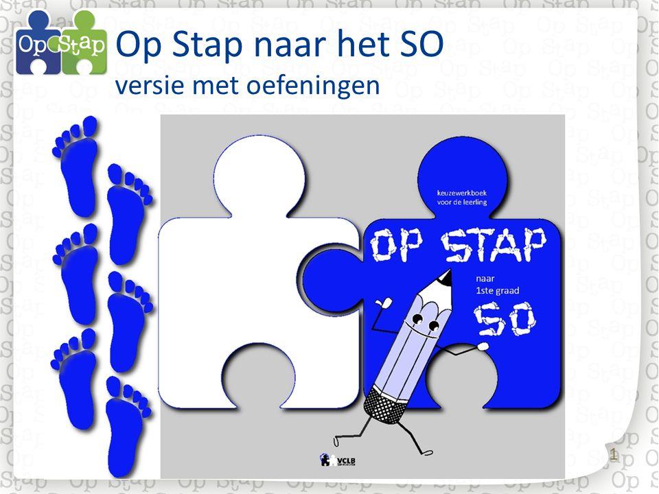 42 3.Op Stap met… Op Stap 1.School en CLB: leerkracht en CLB-medewerker werken samen.