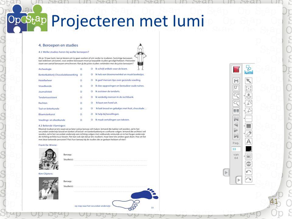 41 Projecteren met Iumi