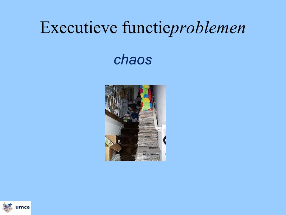 Executieve functieproblemen chaos