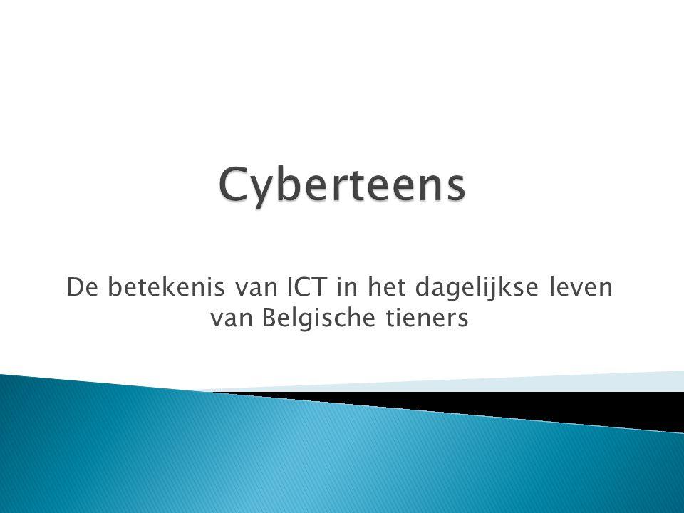 De betekenis van ICT in het dagelijkse leven van Belgische tieners