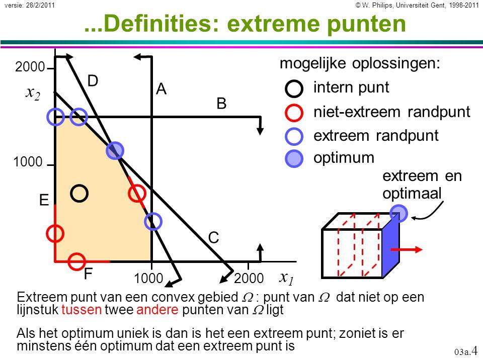 © W. Philips, Universiteit Gent, 1998-2011versie: 28/2/2011 03a.