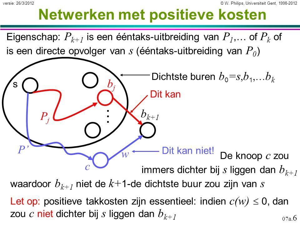 © W. Philips, Universiteit Gent, 1998-2012versie: 26/3/2012 07a.