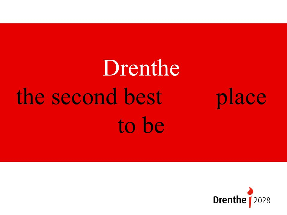 Drenthe the second best place to be