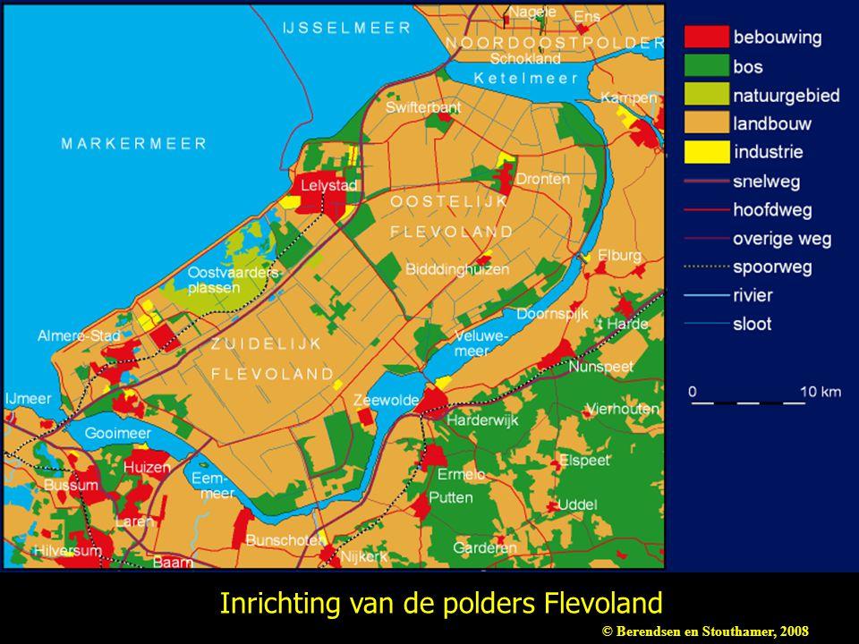 Inrichting van de polders Flevoland © Berendsen en Stouthamer, 2008