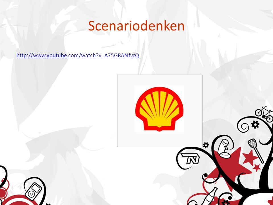 Scenariodenken http://www.youtube.com/watch v=A75GRANfvrQ
