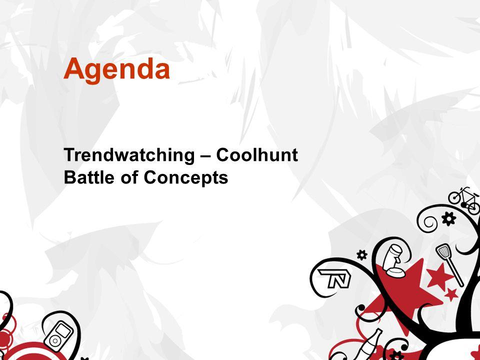 Opdracht Coolhunting In twee- of drietallen op pad Ter voorbereiding: http://www.idealize.nl/tag/carl-rohde/ En je leest de 2 pdf's op het blog