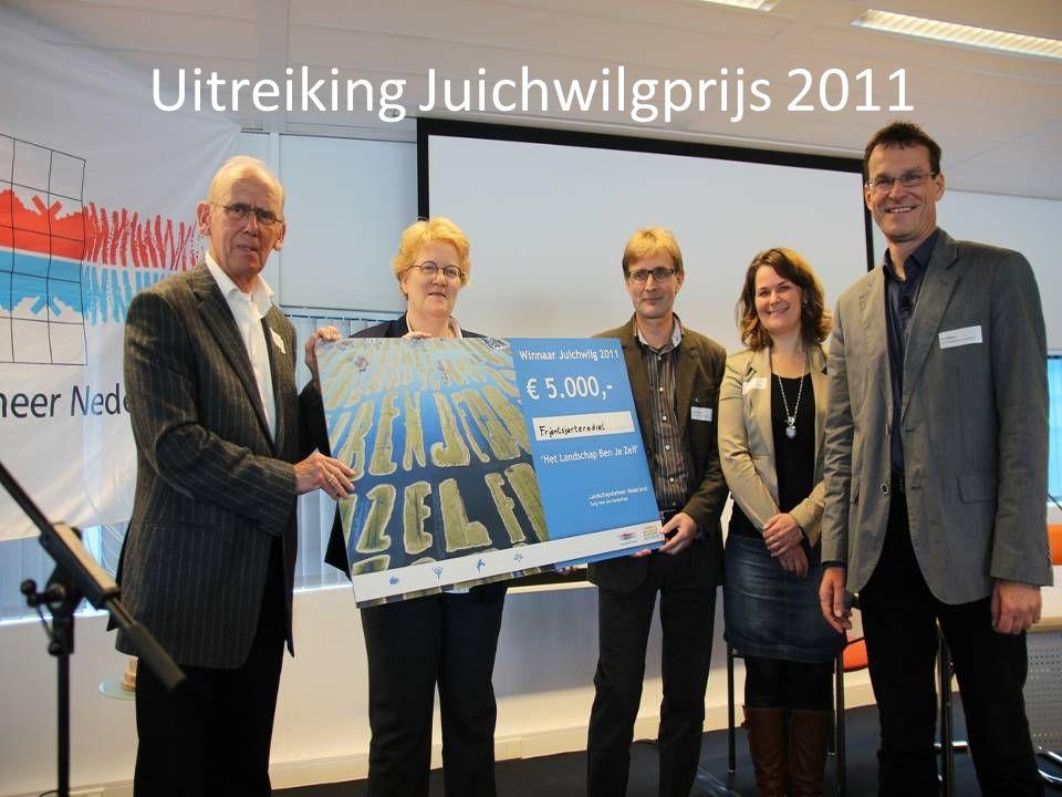 Uitreiking Juichwilgprijs 2011