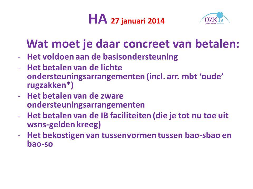 HA 27 januari 2014 - De veranderende rol van de IB-er.