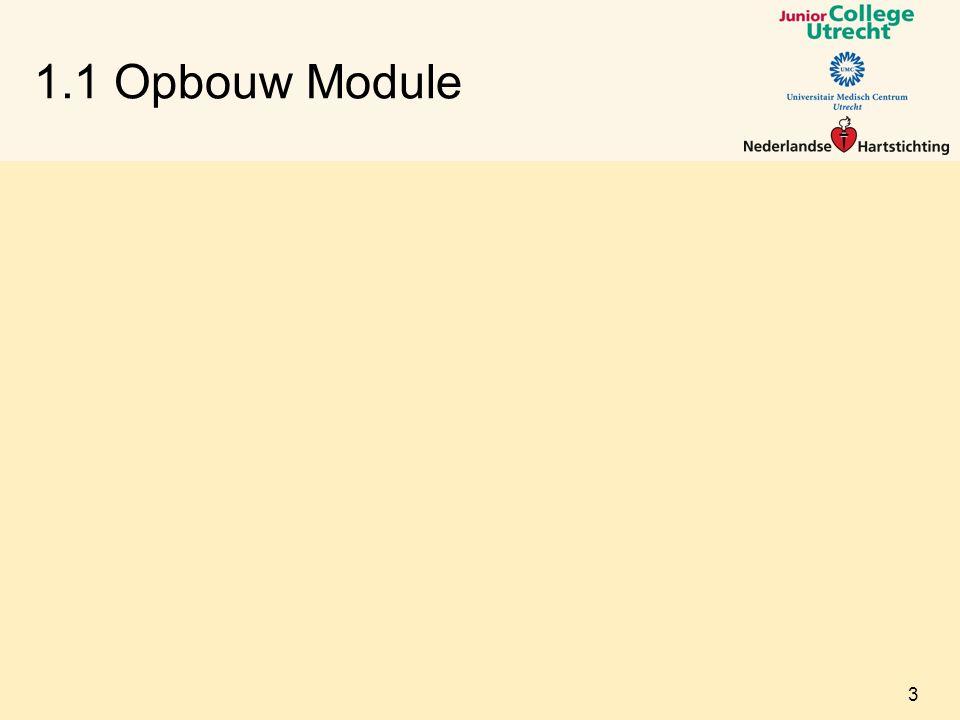 1.1 Opbouw Module 3