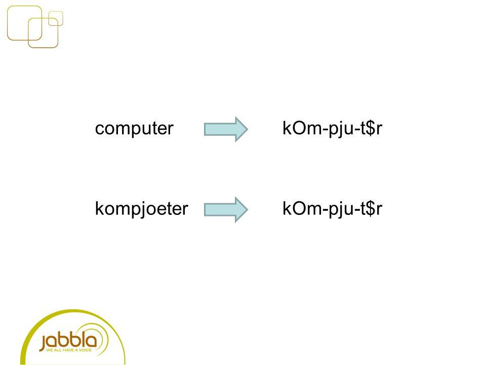 computer kompjoeter kOm-pju-t$r