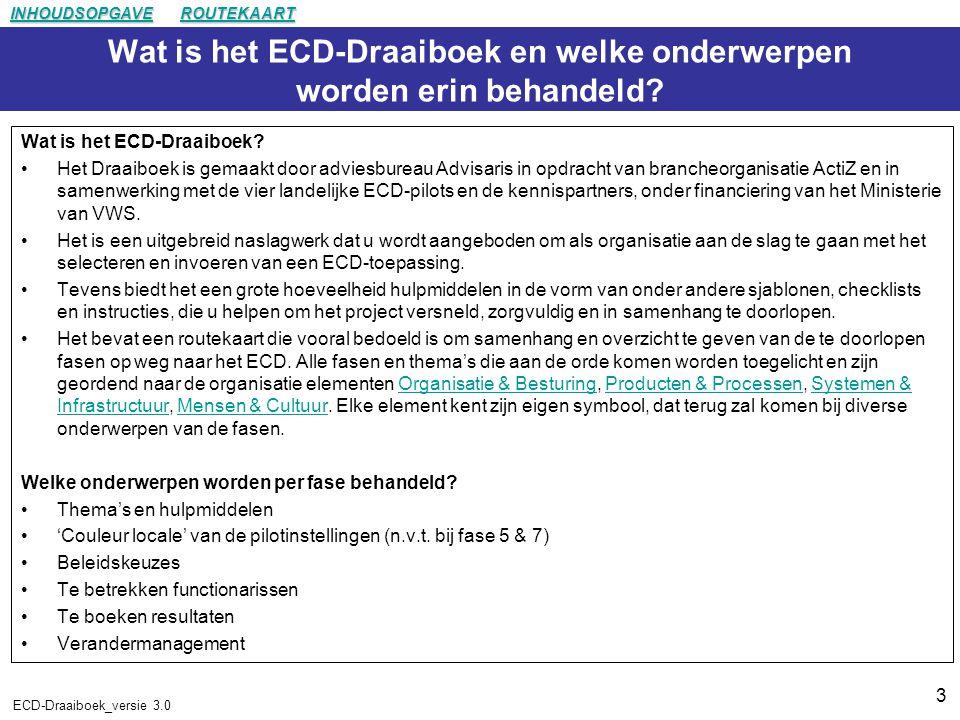 3 ECD-Draaiboek_versie 3.0 Wat is het ECD-Draaiboek en welke onderwerpen worden erin behandeld.