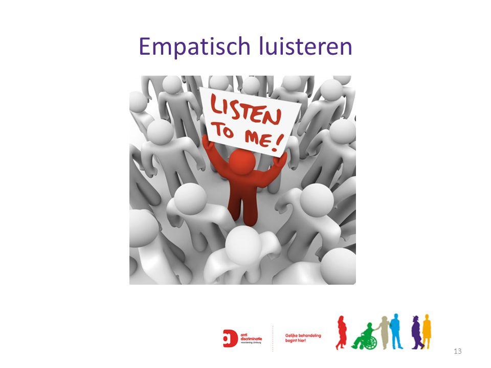 Empatisch luisteren 13