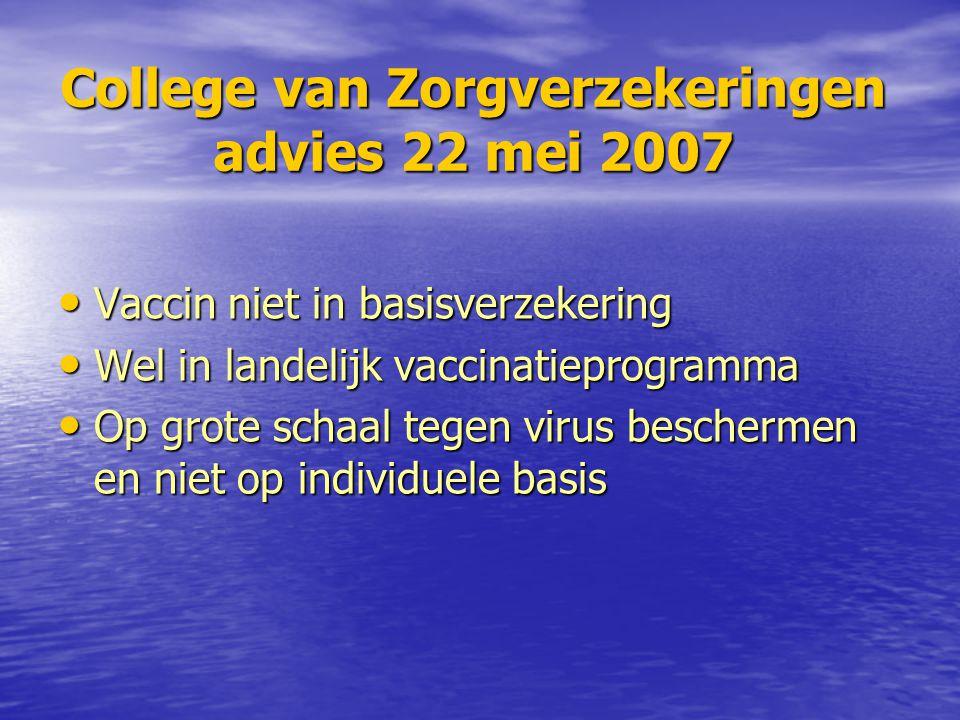 Nederlands Huisartsen genootschap Standpunt HPV-vaccinatie a p r i l 2 0 0 7 a p r i l 2 0 0 7 Vooralsnog terughoudendheid