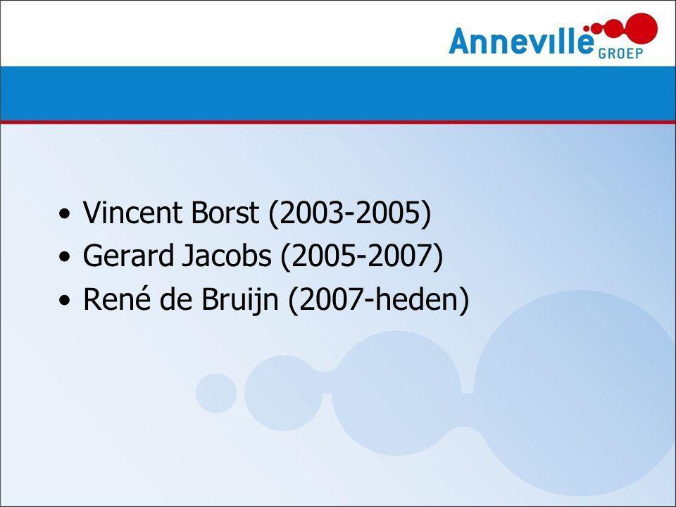 Vincent Borst (2003-2005) Gerard Jacobs (2005-2007) René de Bruijn (2007-heden)